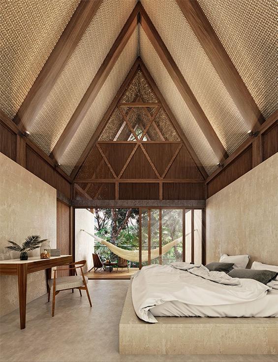 Jungle Keva Tulum Lodge - Interior View