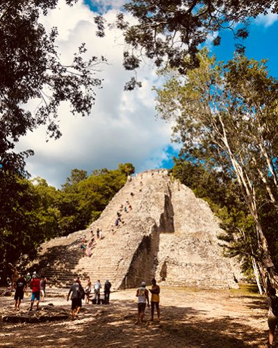 Ancient Ruins of Coba - Jungle Keva Tulum